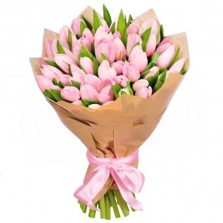 Тюльпаны розовые (за шт)