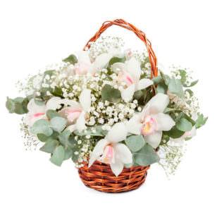 Цветы в корзинке «Искусство любви»
